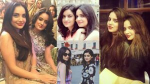Actress and Producer Armeena Khan with her sister Amazing Pictures