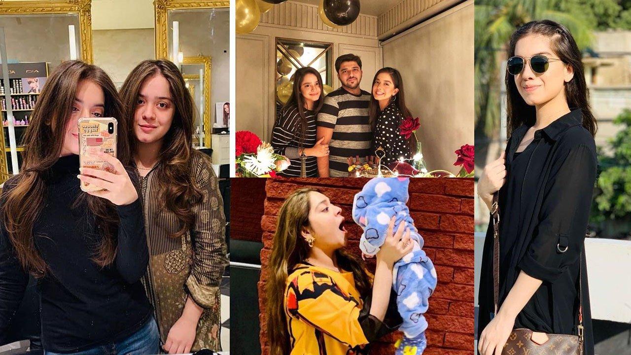 Arisha Razi with her Sister Sarah Khan Daughter