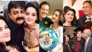 Ayeza Khan and Mawra khan Cute Clicks with their Father