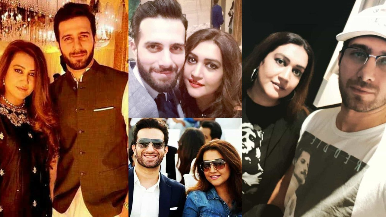 Emmad Irfani actor of Jalan with Her wife Clicks