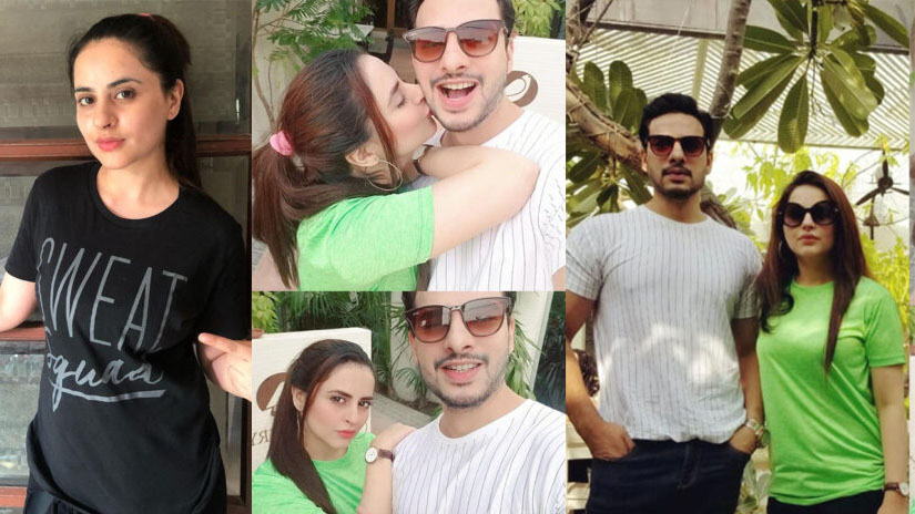 Fatima Effendi Latest Pictures with her Husband