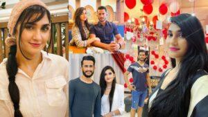 Hassan Ali with her Wife Samiya Couple Goals Clicks