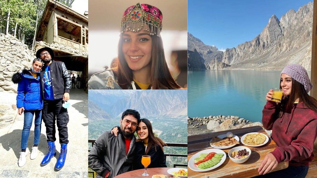 Iqra Aziz on Holidays with her Husband Yasir Hussain