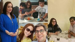 Read more about the article Juggan Kazim Latest Pictures with her Husband