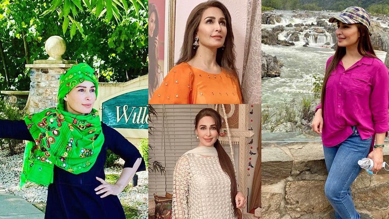 Legend actress Reema Khan Latest Pictures