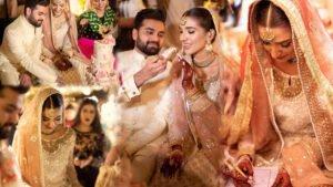 Rabab Hashim Wedding pictures viral on Social Media