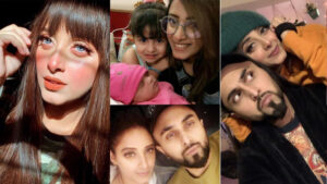 Sanam Chaudhary New Picture with her Family