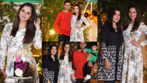 Shoaib Malik Wife Sania Mirza Birthday Beautiful Pciture