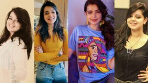 Srha Khan Lost her Weight Transformation Pictures