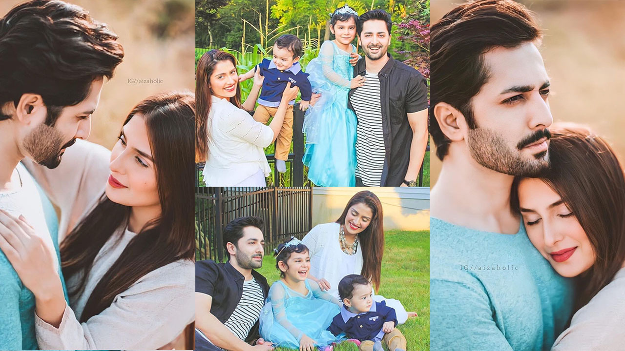 Ayeza Khan and Danish Taimoor Most Romantic Clicks
