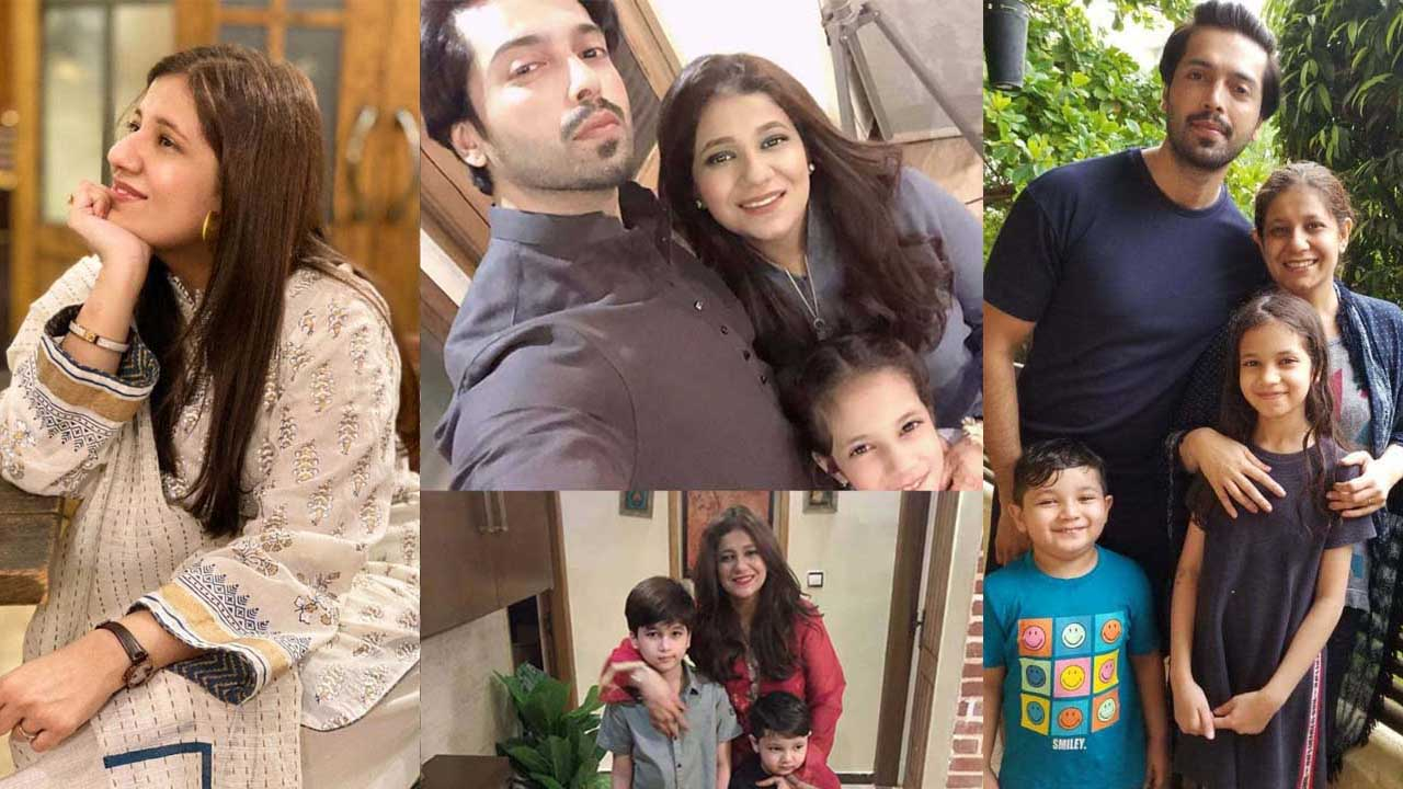 Fahad Mustafa Host of Pakistan Cute Pictures with Family