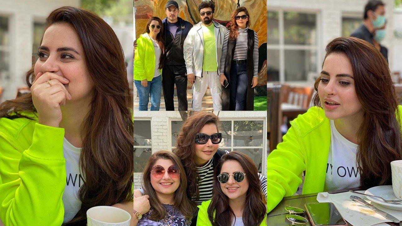 Fatima Effendi New Clicks with Showbiz Friends