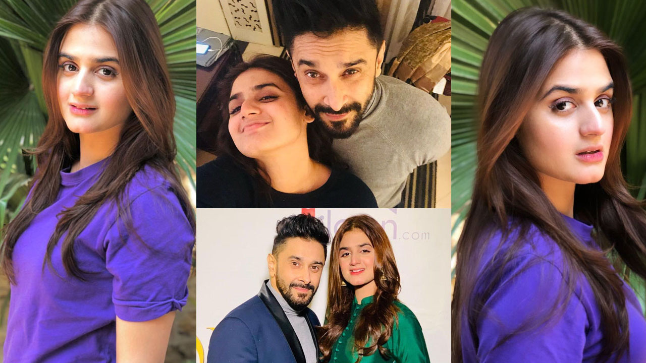 Queen Hira Mani Lovely Clicks with her Husband