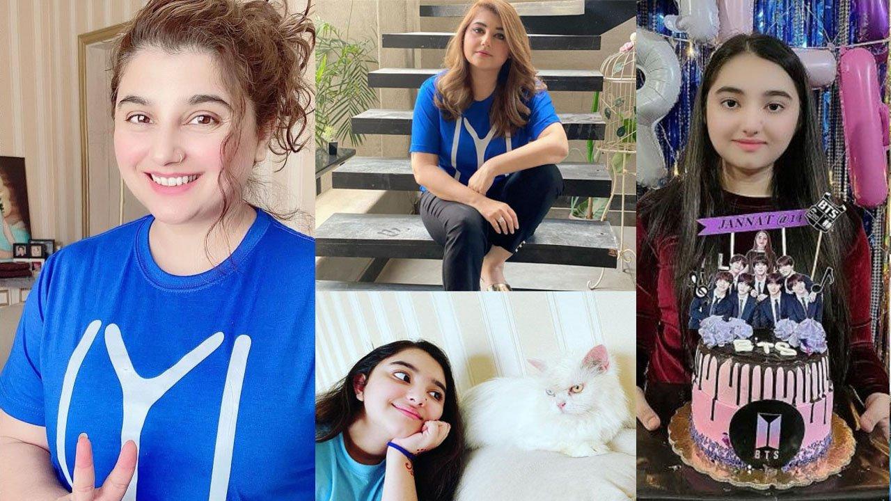 Javeria Suad Latest Clicks with her Cute Princess Daughter