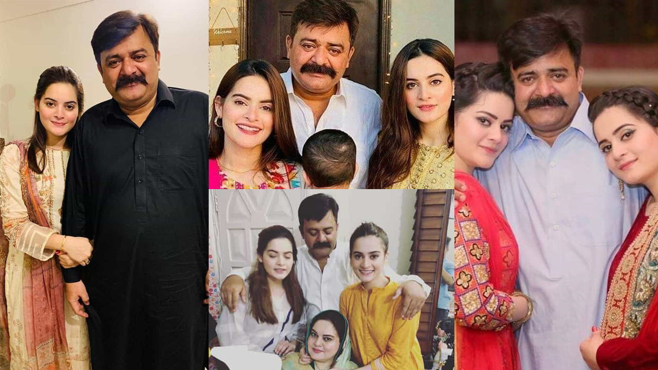 Minal Khan and Aiman Khan Father Death Famous actresses father Died