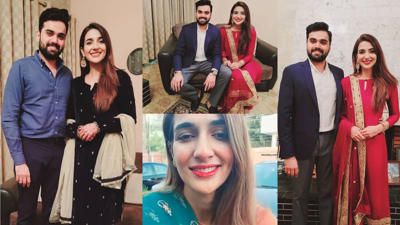 Read more about the article Rabab Hashim New Clicks with her Husband After Marriage