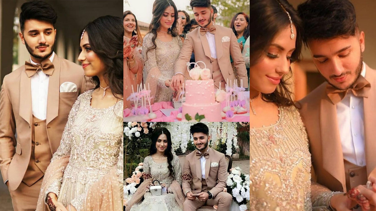 Shaveer Jafry Finally Got Engaged with her Friend