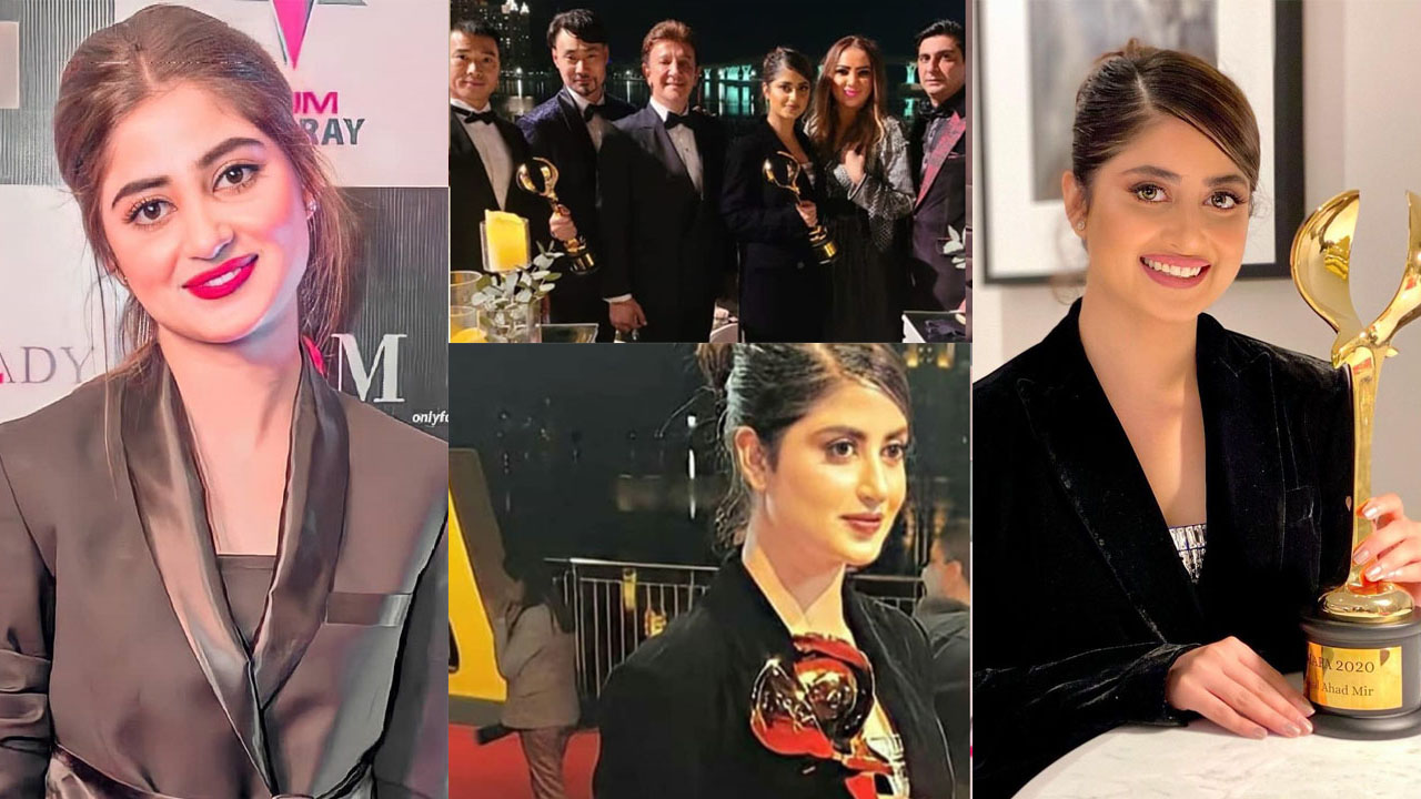 Read more about the article Sajal Ali actress Win the International Award