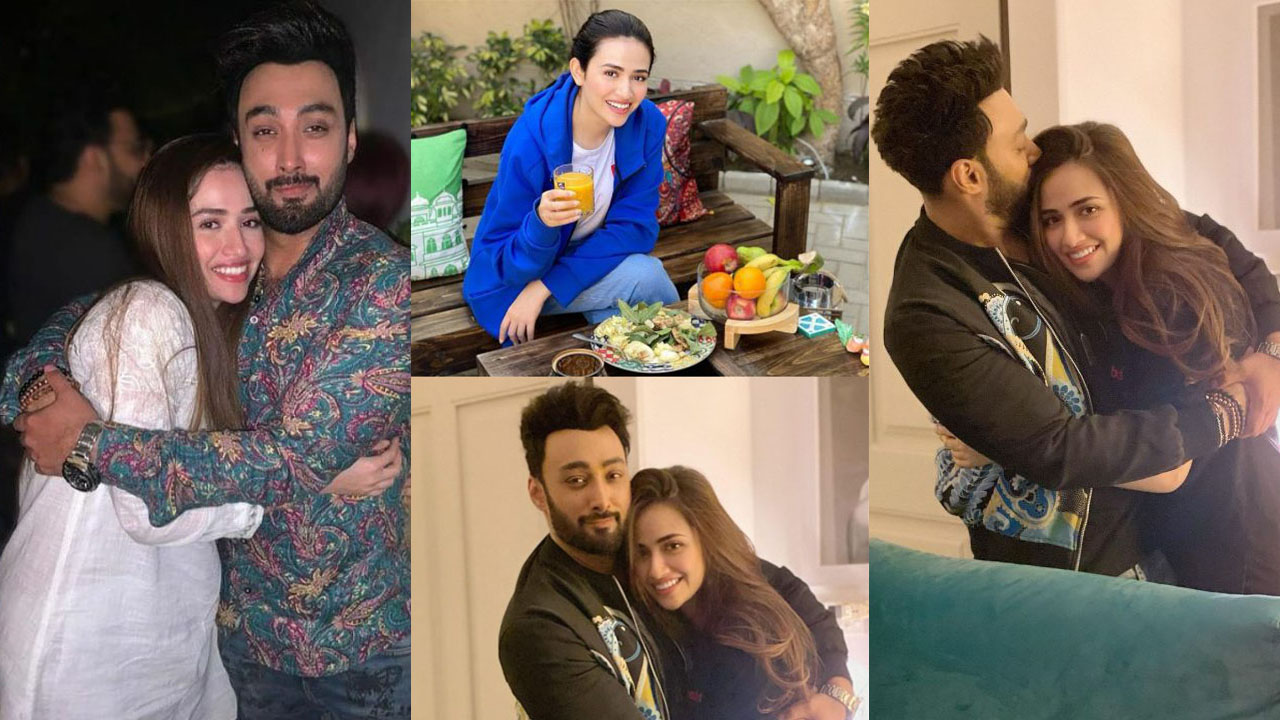 Sana Javed and Umair Jaswal Latest Pictures after marriage