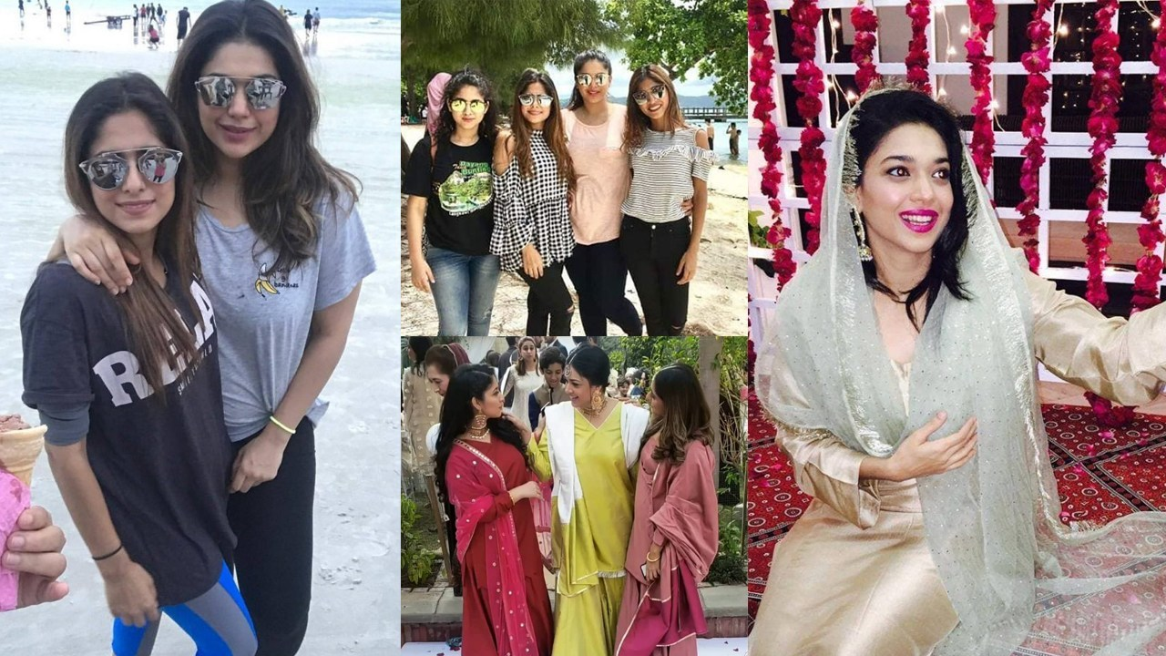 Sanam Jung Adorable Pictures with her Sisters