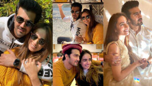 Shehzad Sheikh Celebrate her Wedding Anniversary with her Cute Wife