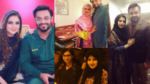Amir Liaquat Host of Pakistan Separated from his 1st wife
