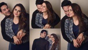 Fatima Effendi New Latest Cute Pictures with her husband Kanwar Arslan