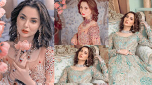 Hania Amir Queen Latest and Gorgeous Bridal Shoot Pictures