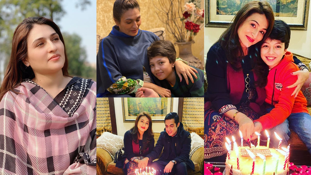 Iqrar ul Hassan celebrating his 1st wife birthday Pictures