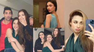 Bold Actress Mishal Khan happy moments with friends on her Birthday