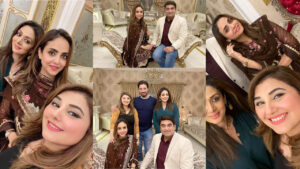 Javeria Suad Invited to New Couple Nida Khan and her Husband on Dinner
