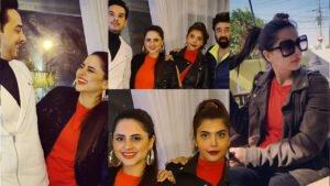 Fatima Effendi and Nida Yasir with their Husband Amazing Pictures