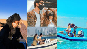 Ahad Raza Mir and sajal Aly enjoying their long term Honeymoon