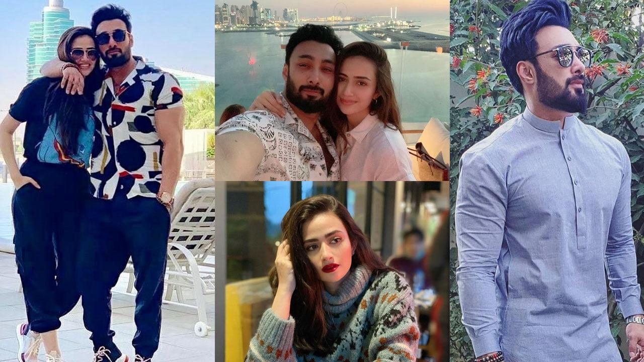 Sana Javed on honeymoon with her Builder Husband Umair Jaswal