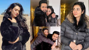 Sarah Khan New and Lovely Clicks with her Cute Husband Falak