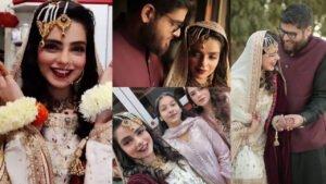 Srha Asghar Actress of Pakistan Got married