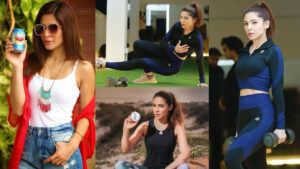 Ayesha Omer New Fitness Clicks in Casual Style