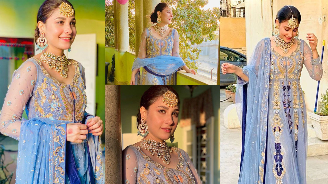 Hina Altaf Lovely and Adorable Clicks in Bridal Collection