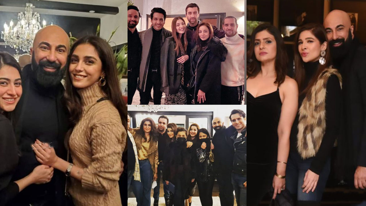 HSY Arrange a party Invited Maya Ali and other showbiz actors