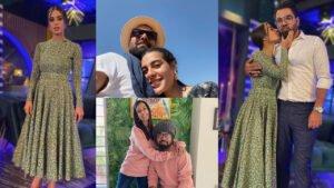 Iqra Aziz and Yasir Hussain Romantic Way Clicks