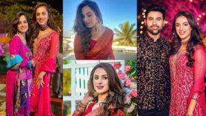 Maham Amir  New Clicks with Family on Wedding Event