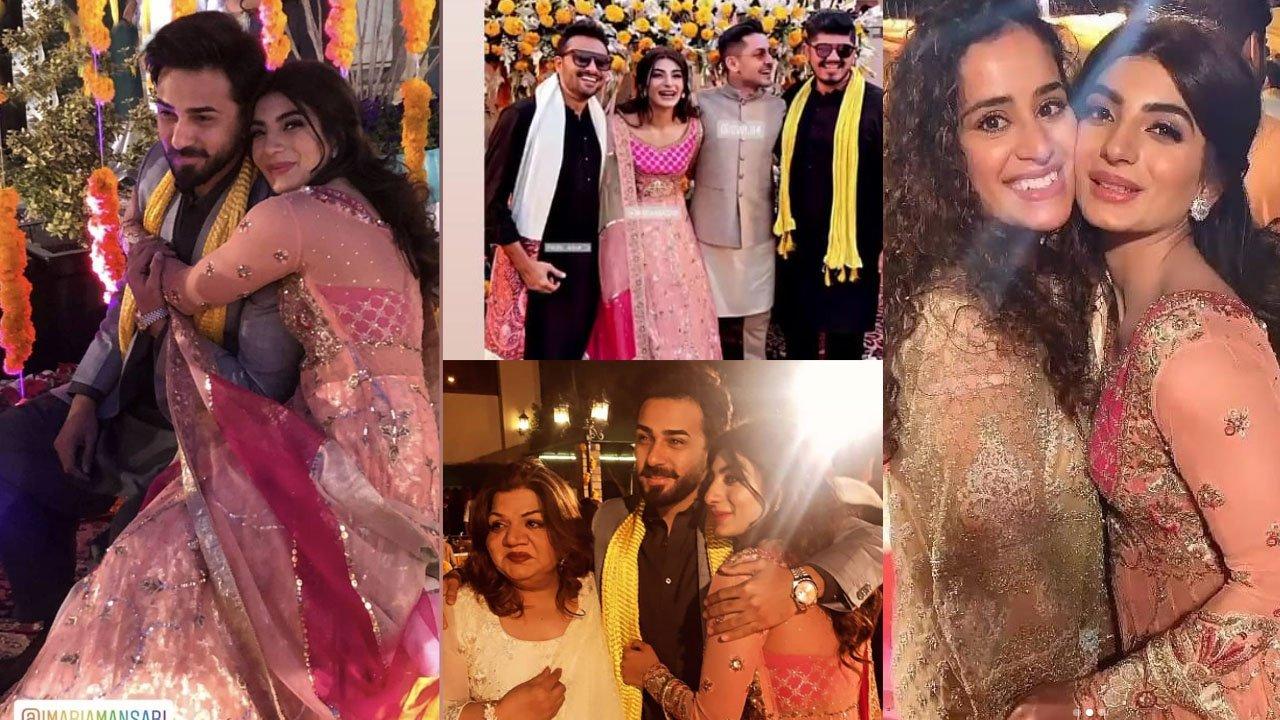 Mariam Ansari Mehndi Event beautiful Clicks