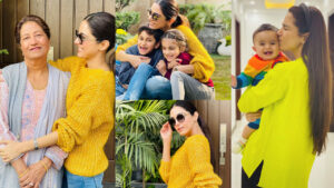 Maya Ali New Clicks with Family and Cute Mom