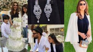 Nida Yasir 47th Birthday Gifts by Showbiz Friends