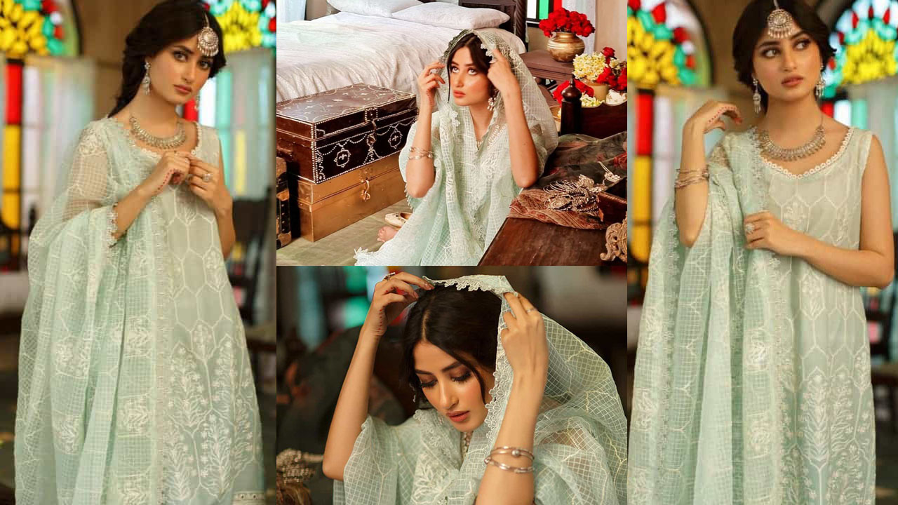 Sajal Aly Innocent and Tradition Way Photoshoot