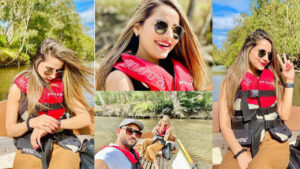 Sania Shamshad New Lovely Clicks with Husband