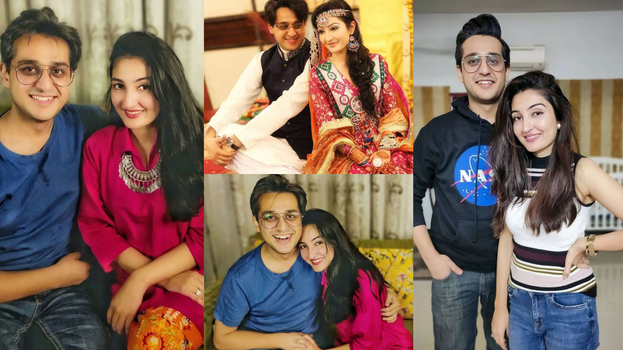 Shafaat Ali the Anchor of ARY Lovely Clicks with Wife
