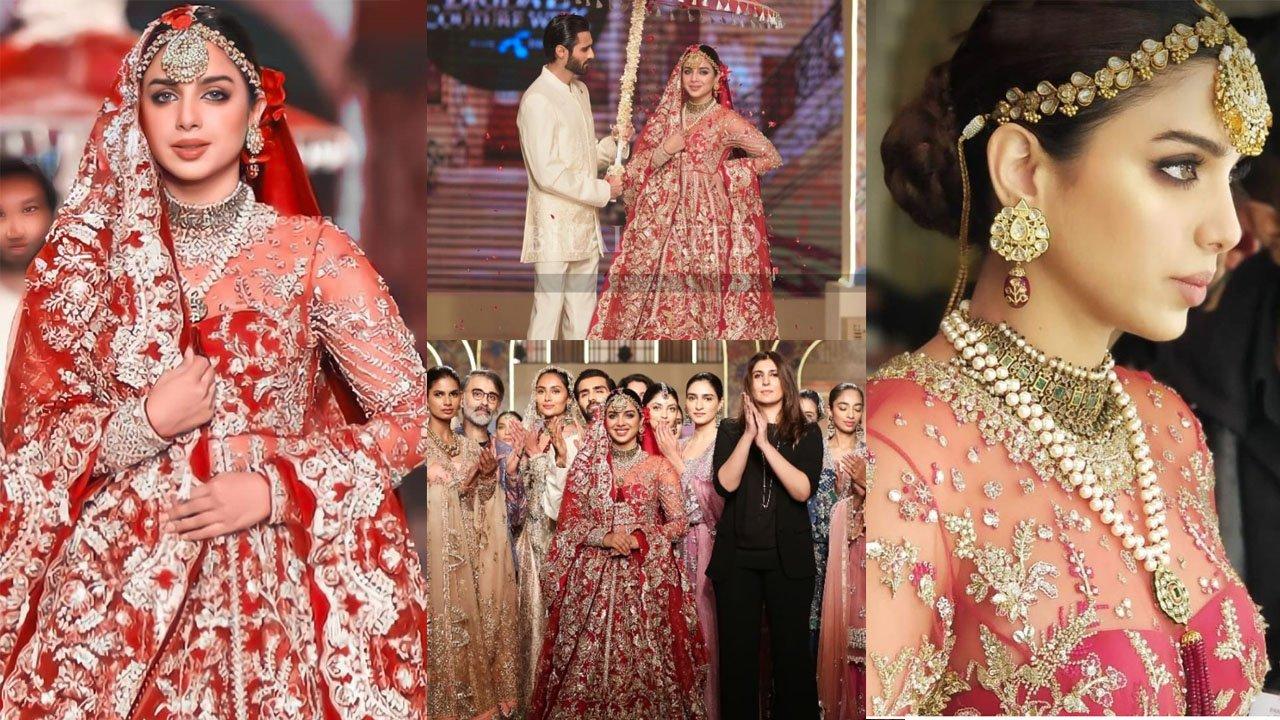 Sonya Hussyn New Bridal Look in Fashion Show