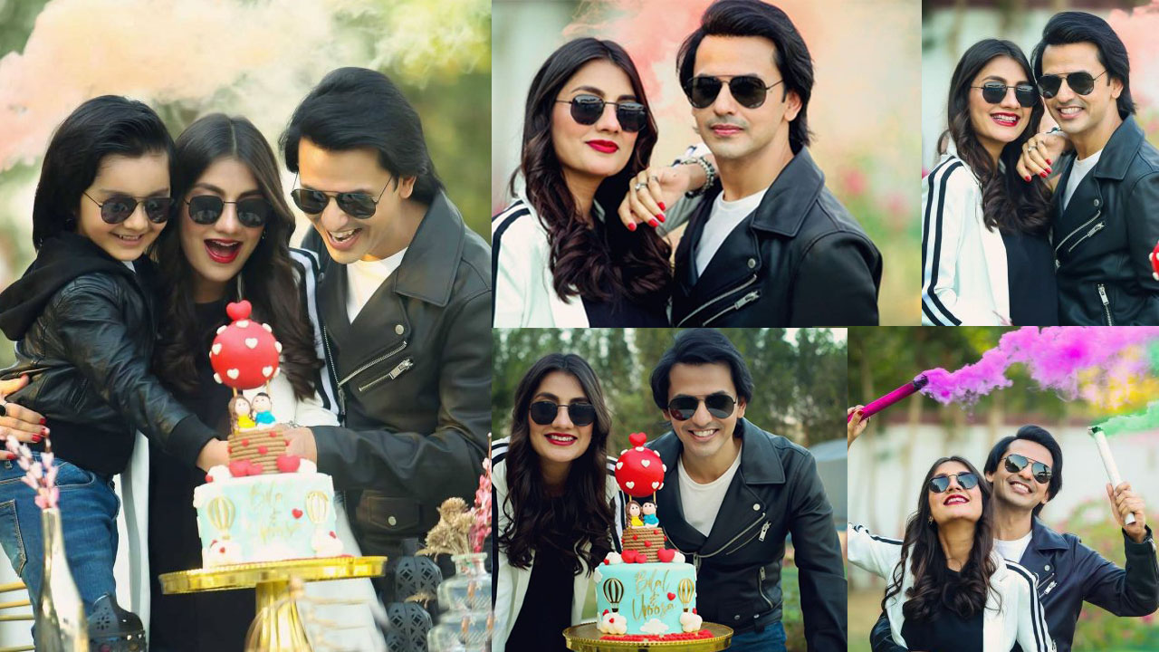 Uroosa Bilal and Bilal Qureshi Celebrated their Wedding Anniversary