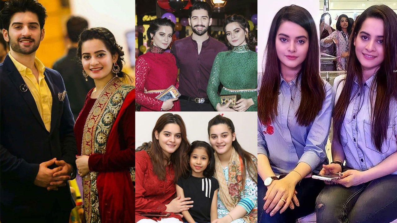 Aiman Khan and Minal Khan looking fatty in Old Clicks